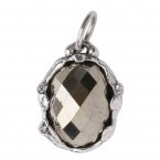 Stellare Signature Stone Pyrite and Sterling Pendant- Retired