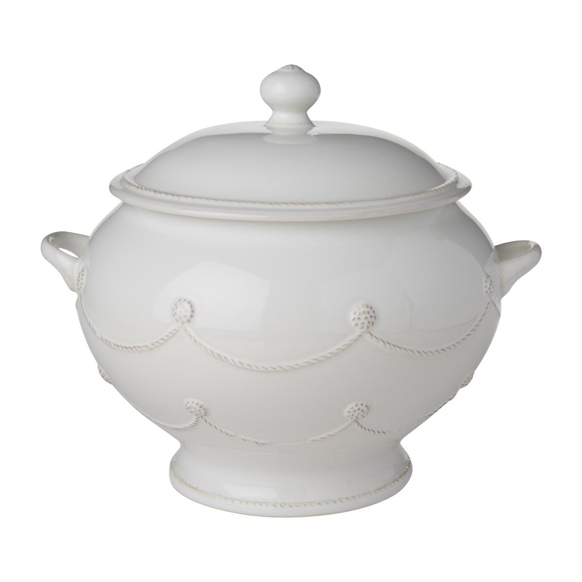 Berry & Thread Whitewash Soup Tureen - 1 available