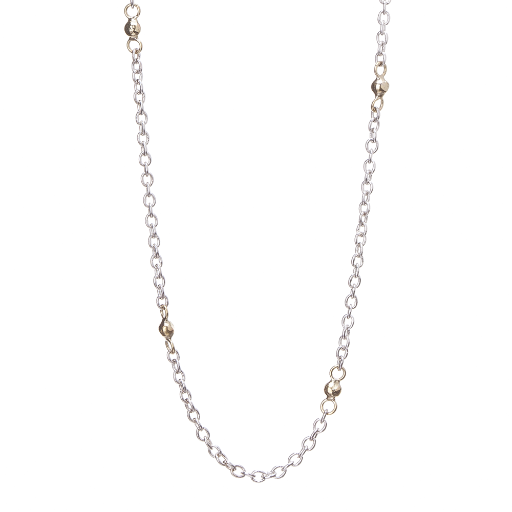 chains stainless china latest fancy steel long necklace product gold bead wxweovkjedhl ball
