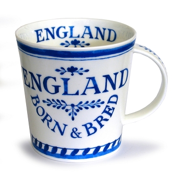 Cairngorm Born & Bread in England Mug