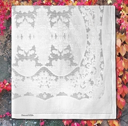 Giro Inglese Tablecloth, 100% Cotton-special order