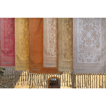 Damasco Rustica Double Width Runner/Shawl- allow 2 week delivery