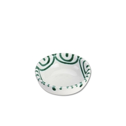 Dizzy Green Dip Bowl, Small  3.5 inch