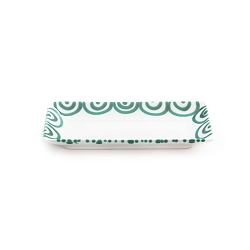 Dizzy Green Snack Tray 8.7