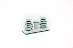 Dizzy Green Gourmet Salt and Pepper Set
