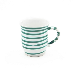 Dizzy Green Chocolate Mug