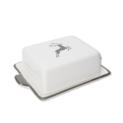 Grey Deer Classic Butter Dish Small