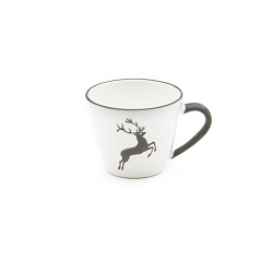 Grey Deer Gourmet Coffee Cup and Saucer