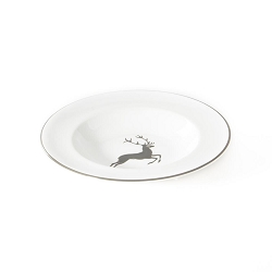 Grey Deer Gourmet Soup Plate 9.4
