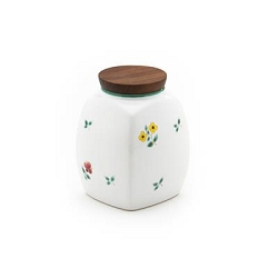 Alpine Flowers Spice Jar Small 4