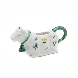 Alpine Flowers Cow Creamer
