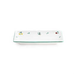 Alpine Flowers Snack Tray 8.7