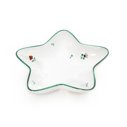 Alpine Flowers Star Dish 5.5