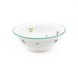 Alpine Flowers Salad Bowl 7.9