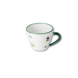 Alpine Flowers Gourmet Cappuccino Cup and Saucer
