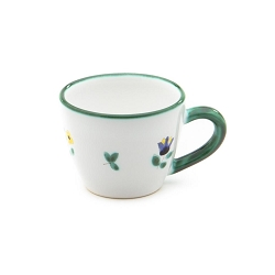 Alpine Flowers Gourmet Espresso Cup and Saucer