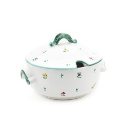 Alpine Flowers Soup Tureen