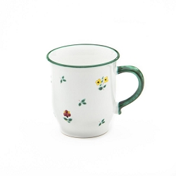 Alpine Flowers Chocolate Mug