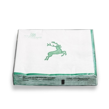 Green Deer Napkin