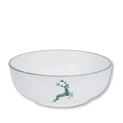Green Deer Bowl, 7.1 inch, Limited