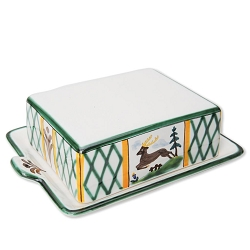 Hunter's Delight Butter Dish 8.8 oz
