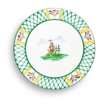 Hunter's Delight Gourmet Dinner Plate 11