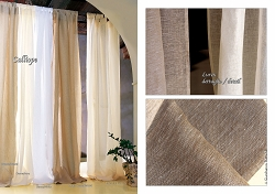 Calliope Curtain Panel, Italian