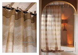 Demetra Curtain Panel, Italian