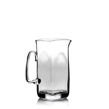Woodbury Large Glass Pitcher