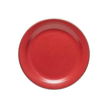 Positano Red Dinner Plate Set/4