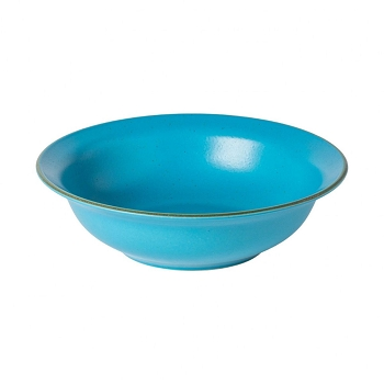 Positano Cyan Serving Bowl