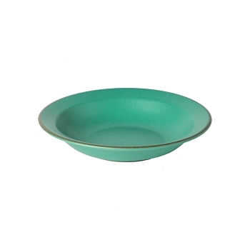Positano Green Soup/Pasta Plate Set/4