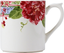 Gien Millefleurs Mug 8 ounce - 4 available