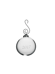 Annual Round Ornament In A Gift Box