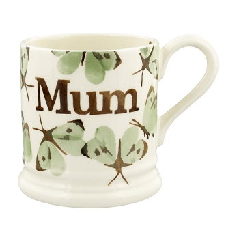 Green Cabbage White Butterfly Mum 1/2 Pint Mug-2 available
