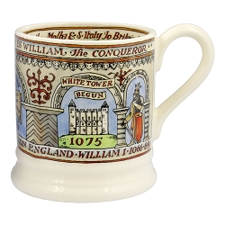 Emma Bridgewater William the Conqueror 1/2 Pint Mug