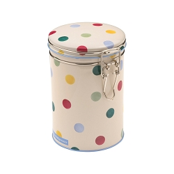 Polka Dot Caddy with Clip Lid