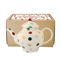 Polka Dot 2 Cup Teapot RETIRED