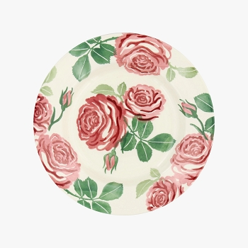 Pink Roses 8.5 Inch Plate