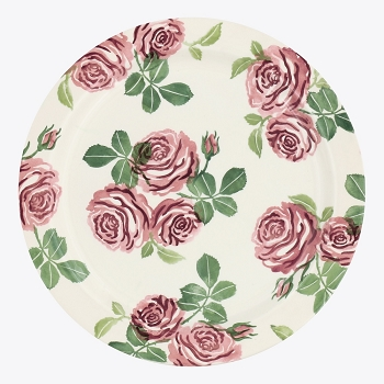 Pink Roses Serving Plate