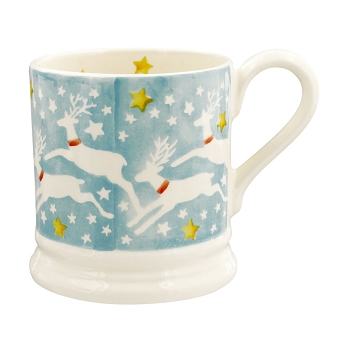 Reindeer Sky 1/2 Pint Mug- 3 available