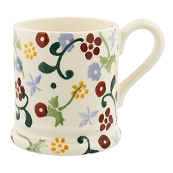 Spring Floral 1/2 Pint Mug -only 1 left