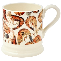 Shellfish Shrimps  All Over 1/2 Pint Mug