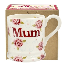Tiny Scattered Rose MUM 1/2 Pint Mug Bxd