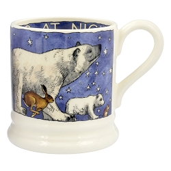 Emma Bridgewater Winter Animals 2017 1/2 Pint Mug