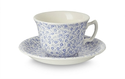 Pale Blue Felicity Teacup and Saucer