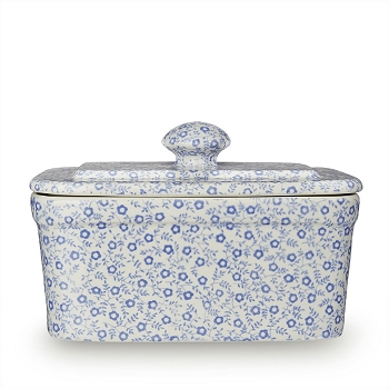 Pale Blue Felicity Rectangular Butter Dish