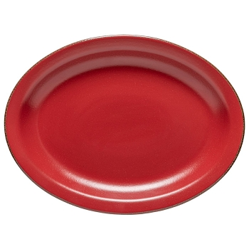 Positano Red Oval Platter