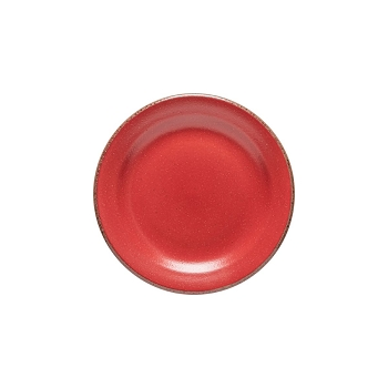 Positano Red Salad Plate Set/4