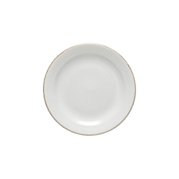 Positano White Salad Plate Set/4